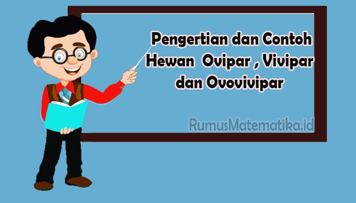 Contoh Hewan Ovovivipar, Ovipar dan Vivipar